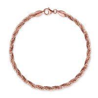 Rose Gold Twisted Bracelet