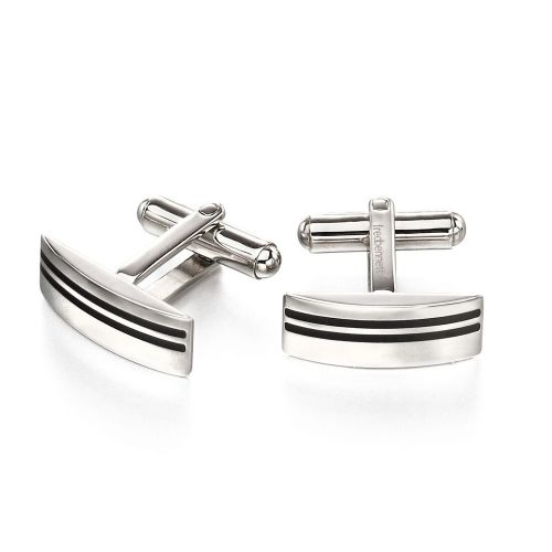 Double Stripe Cufflinks