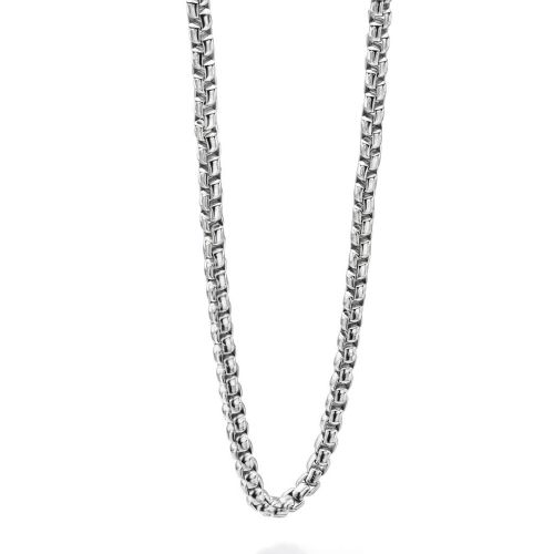 "Belcher Necklace 24"" in Stainless Steel"