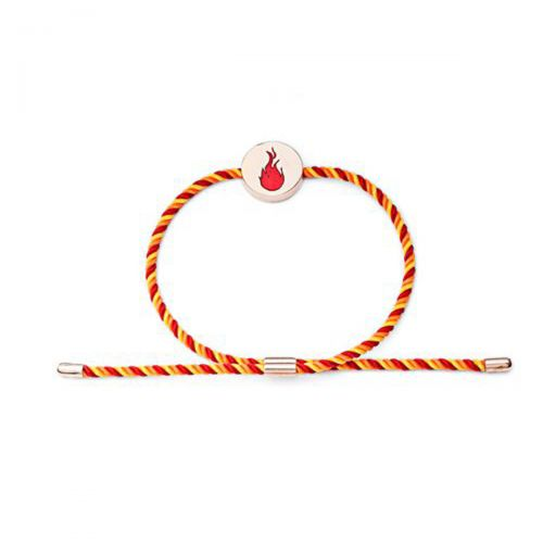 Feline Spirit Fire Rose Gold Bracelet by Chavin