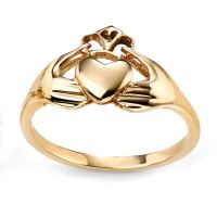 Gold Claddagh Ring