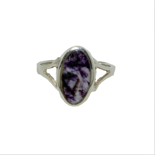 Oval Derbyshire Blue John Ring