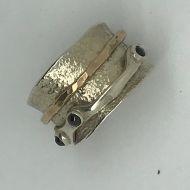 Spinnaker Garnet Ring