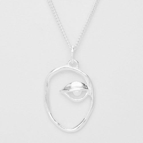 Dora Maar Silver Necklace