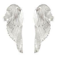 Silver Swan Studs