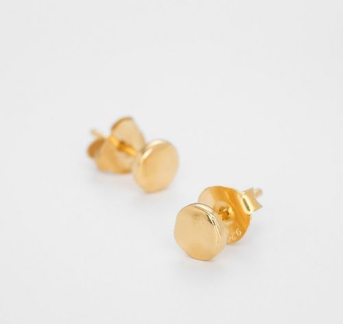 Night and Day Gold Studs