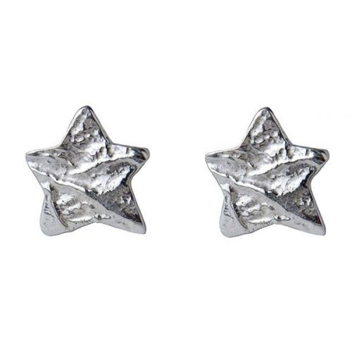Chris Lewis Silver Star Studs