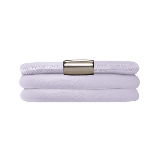 Endless Lilac Leather Bracelet