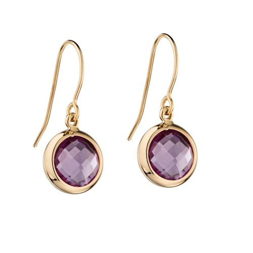 Amethyst Gold Drops