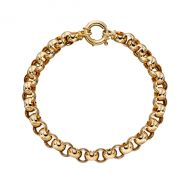 Gold Linked Bracelet