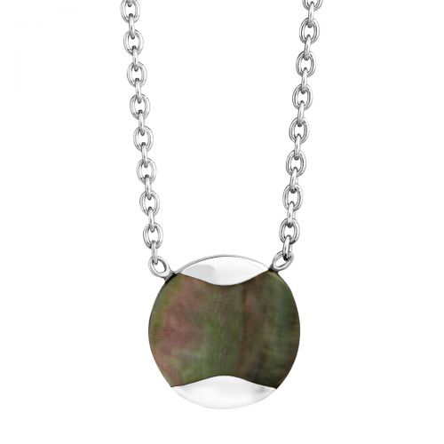 Jersey Pearl Tahitian Mother-of-Pearl Dune Pendant