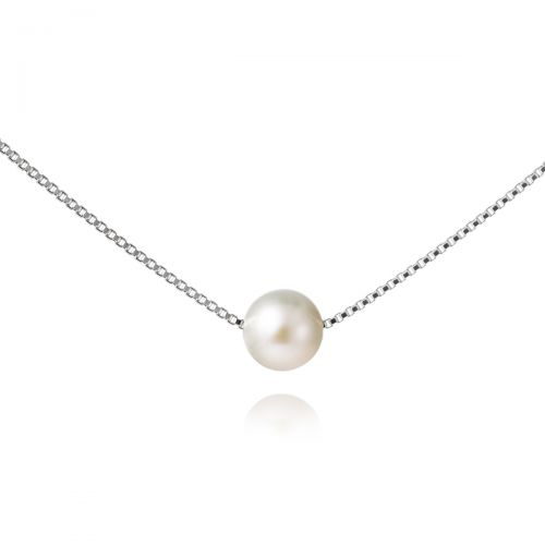 Jersey Pearl 8mm Single Pearl Pendant