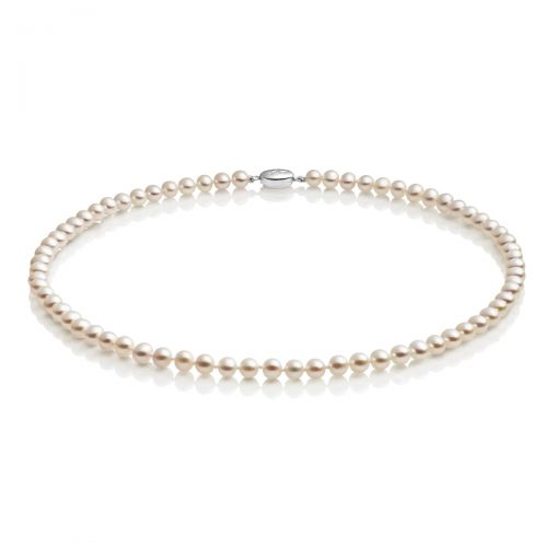 "Jersey Pearl 16"" Semi-Round Necklace"