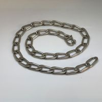 Chunky Open Curb Chain in Sterling Silver