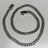 """Sterling Silver Curb Chain 22"""""""
