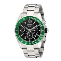 Accurist Green Detail Chronograph Watch MB840