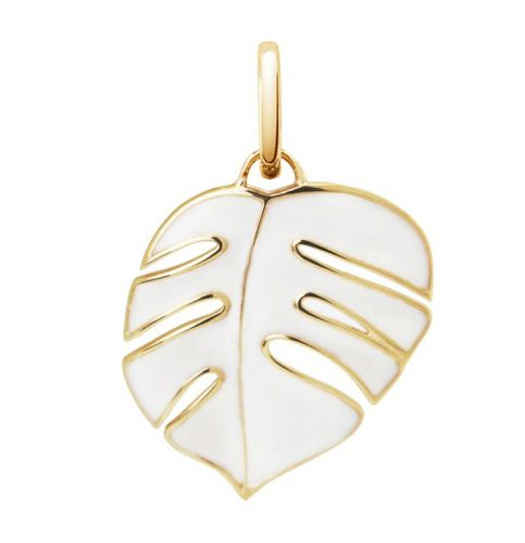 "Oak ""Monsoon"" White Pendant Charm"