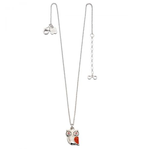 Animal Stories Silver Owl Pendant by Orla Kiely