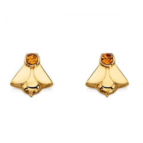 Orla Kiely Gold Bee Stud Earrings