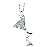 Cocktail Glass Pendant