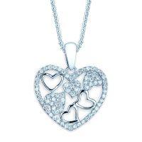 Hearts in Heart Pendant