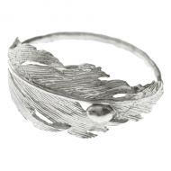 Silver Falcon Ring by Aurum