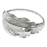 Silver Falcon Ring by Aurum