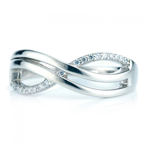 Infinity Band Ring - size N