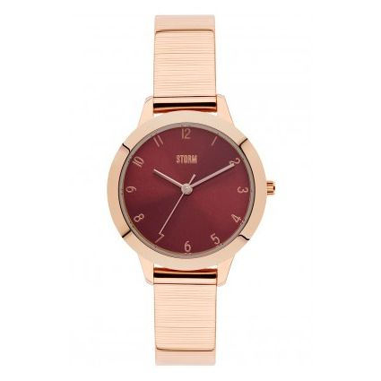 Storm Arya Rose Gold-Red Watch