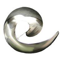 Swirl Silver Brooch