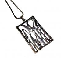 Annabel Humber Bullrush Silver Pendant