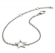 Silhouette Silver Star Bracelet
