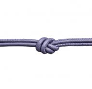 Endless Purple Sage Leather Necklace