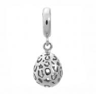 Jennifer Lopez by Endless Leopard Cut Drop Silver Charm