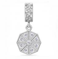 Jennifer Lopez by Endless White Infinity Drop Silver Charm