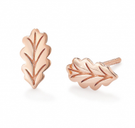 Swept Away Oak Leaf Stud