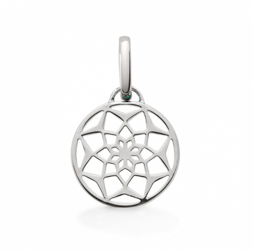 "Oak ""Original Dreamcatcher"" Silver Pendant Charm"