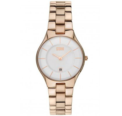 STORM SLIM-X ROSE GOLD LADIES WATCH