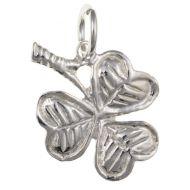 Sterling Silver Shamrock Charm