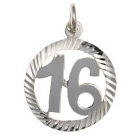 Happy 16th Birthday Pendant
