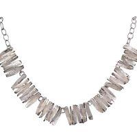 Chris Lewis Cinnamon Silver Necklace