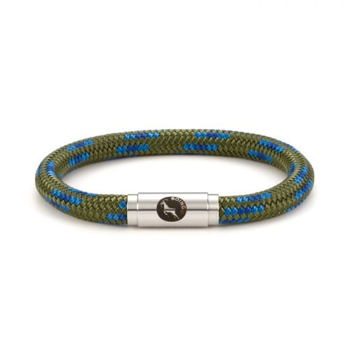 Boing Middy Climbing Rope Bracelet in Peacock