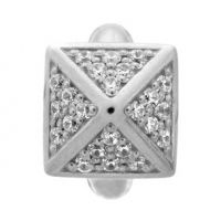 Endless J-Lo Collection White Shiny High Rise Silver Charm