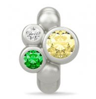 Endless Yellow Sweet Dreams Silver Charm