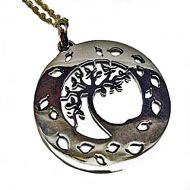 Annabel Humber Autumn Tree Silver Pendant