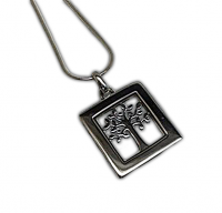 Annabel Humber Tree of Life Silver Pendant