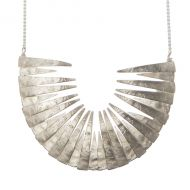 Aurum Large Tuttu Necklace in Silver