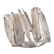 Chris Lewis Sterling Silver Cinnamon Ring